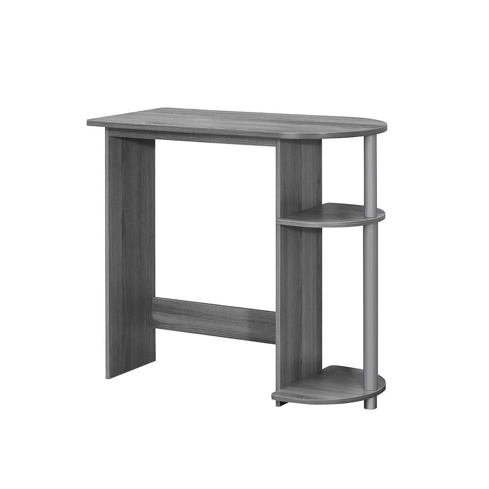 Grey Computer Desk