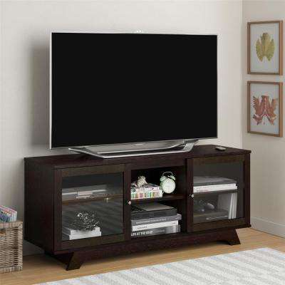 Englewood Cinnamon Cherry Storage Entertainment Center