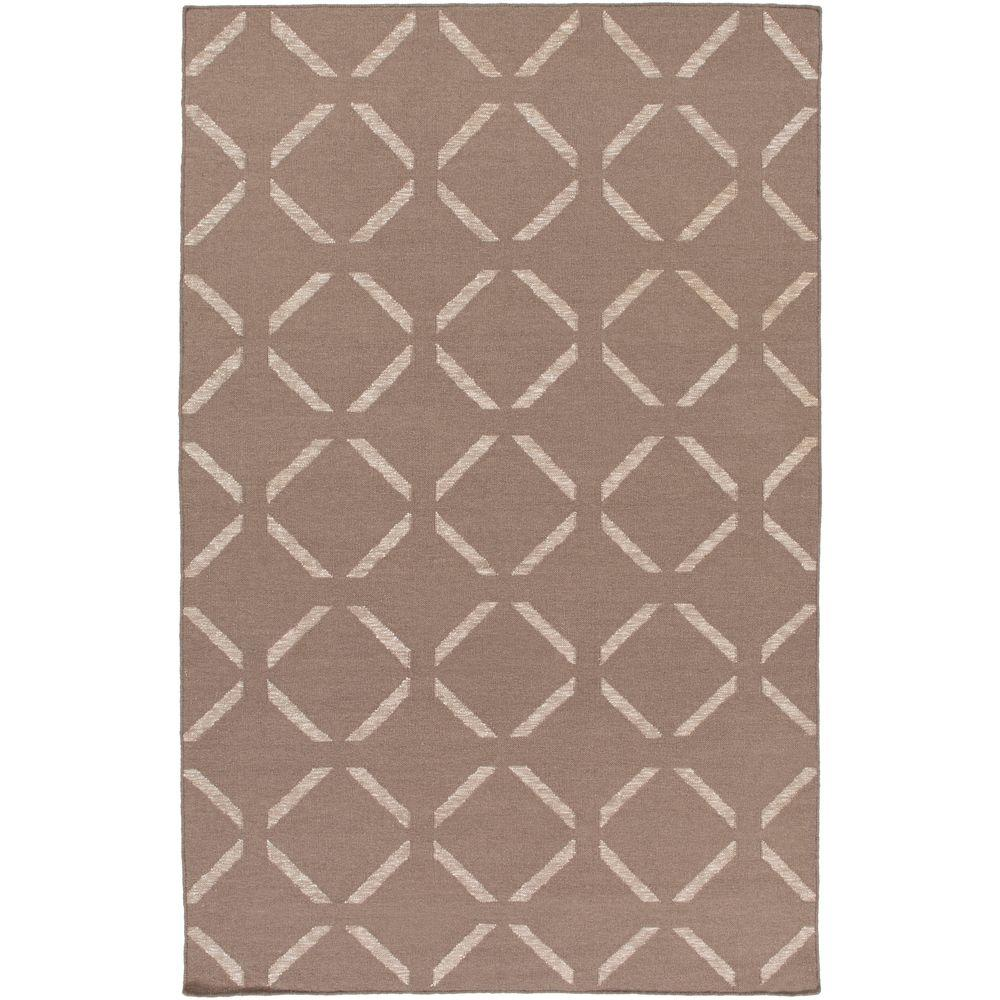 Kushiro Taupe 5 ft. x 7 ft. 6 in. Indoor Area