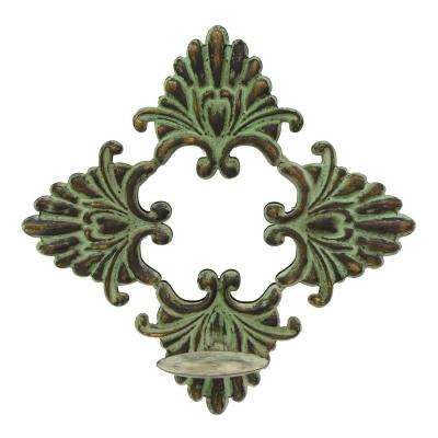 14 in. Metal Sconces