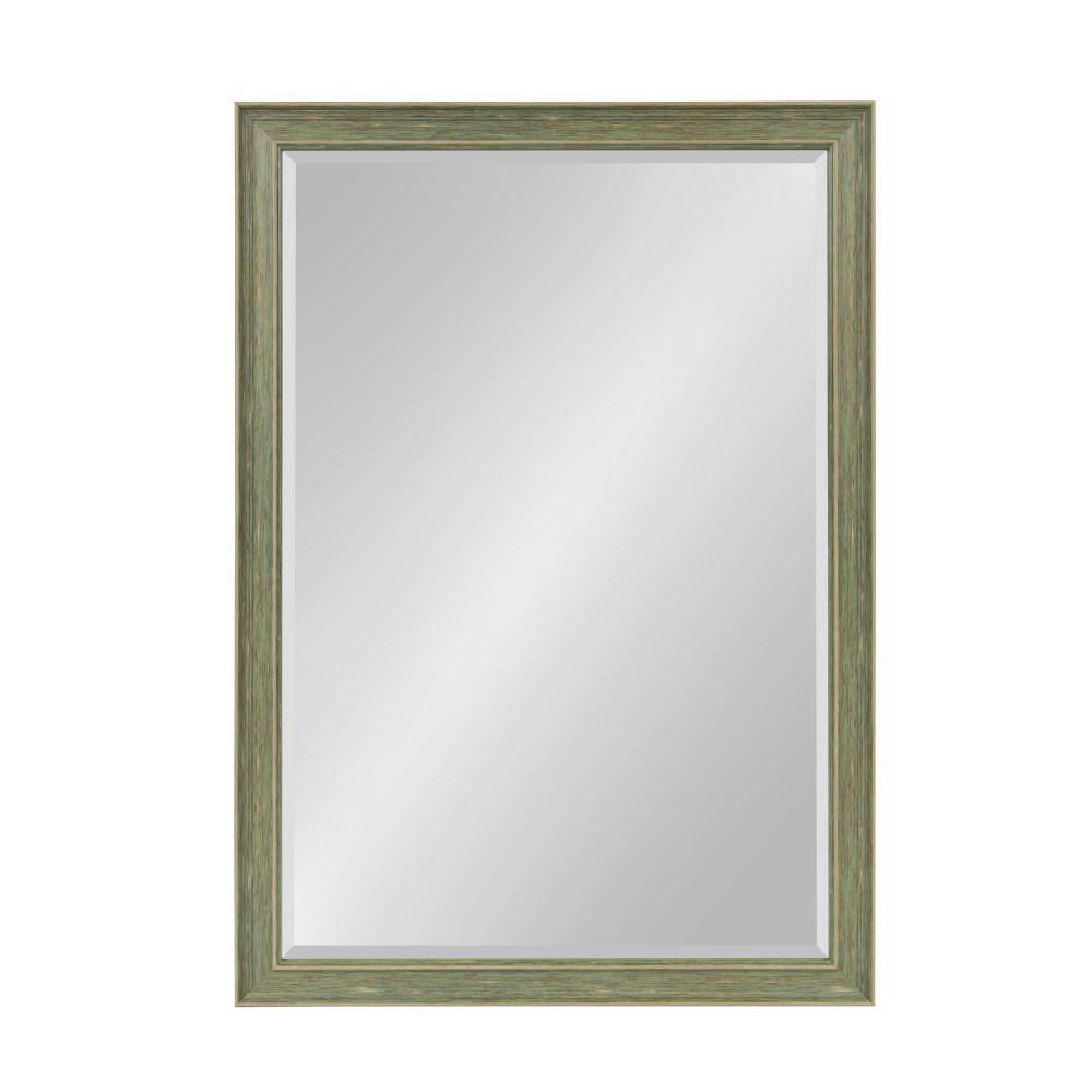 Harvest Rectangle Green Mirror