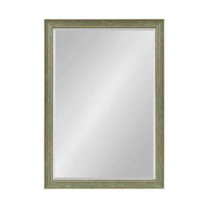 Harvest Rectangle Green Mirror