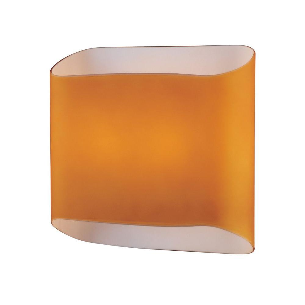 Illumine 2-Light Amber Wall Lamp