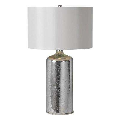 Luna 26 in. Silver Plated Table Lamp
