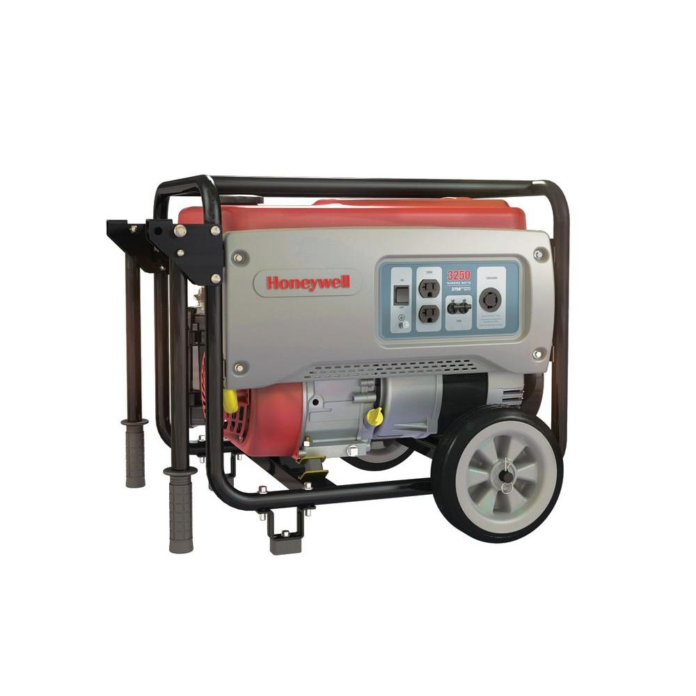 Honeywell 3,250-Watt Gas Powered Portable Generator