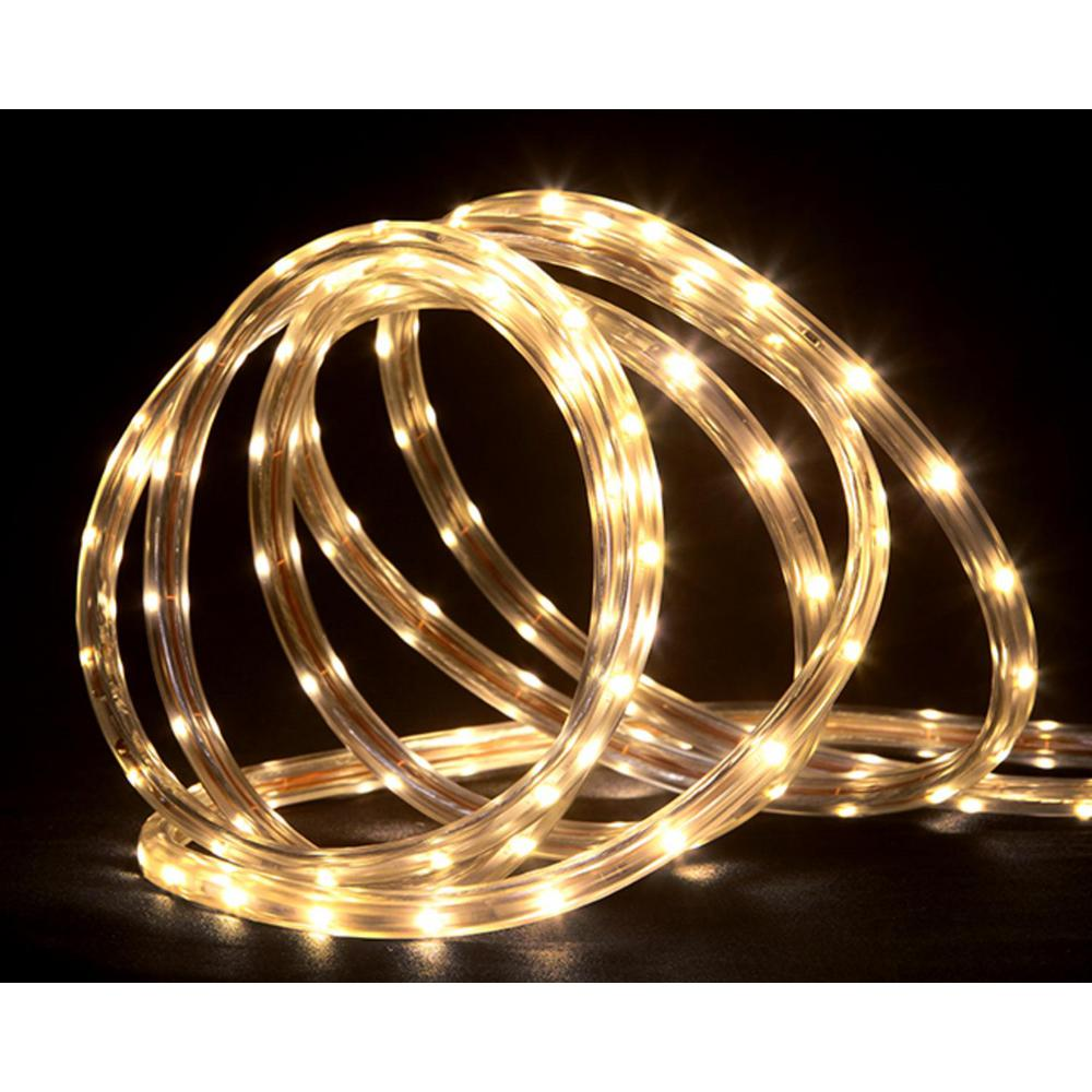 Northlight 18 Ft 108 Light Warm White Indoor Outdoor Led Christmas Rope Lights