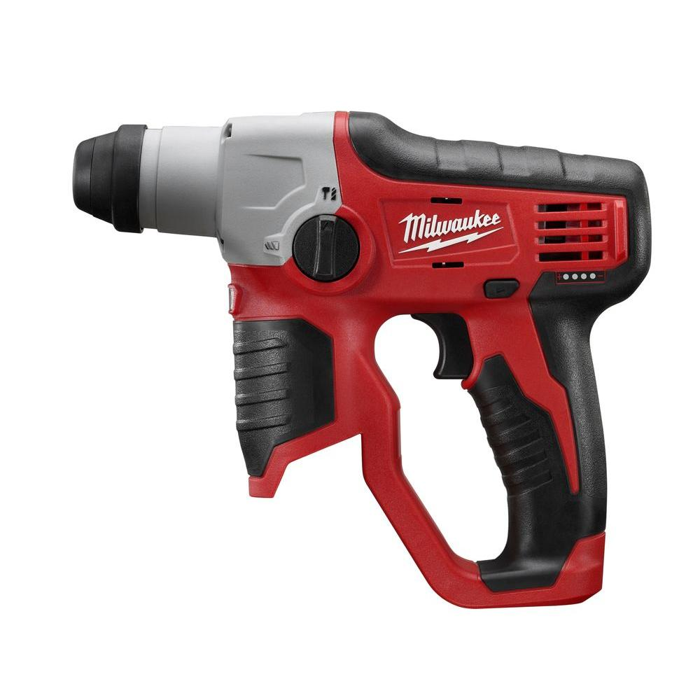 Milwaukee M12 12-Volt Lithium-Ion Cordless 1/2 in. SDS-Plus Rotary Hammer (Tool-Only)