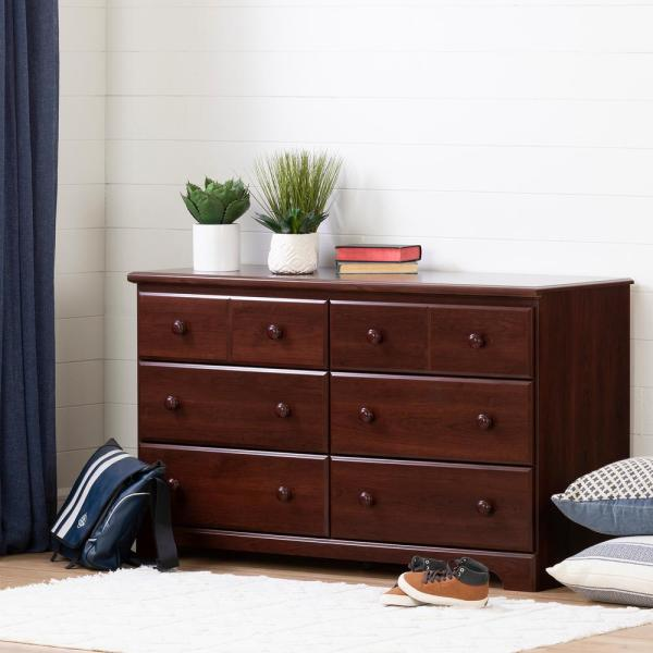 Royal Cherry South Shore Summer Breeze 1-Drawer Night Stand