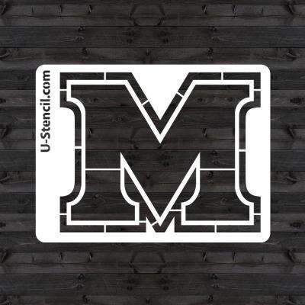 """Marshall """"M"""" Mini Stencil"""