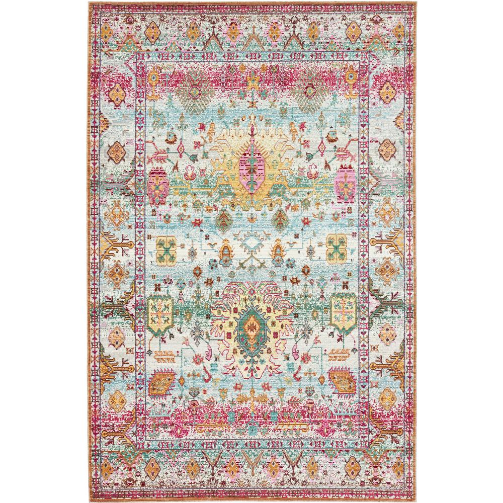 Aria Light Green 5 ft. x 8 ft. Area Rug