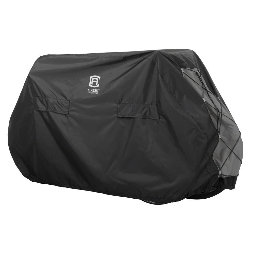 Black Bicycle Cover