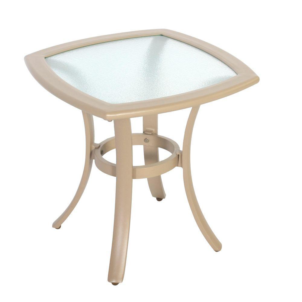 Hampton Bay Westin 20 In Commercial Contract Grade Patio Side Table
