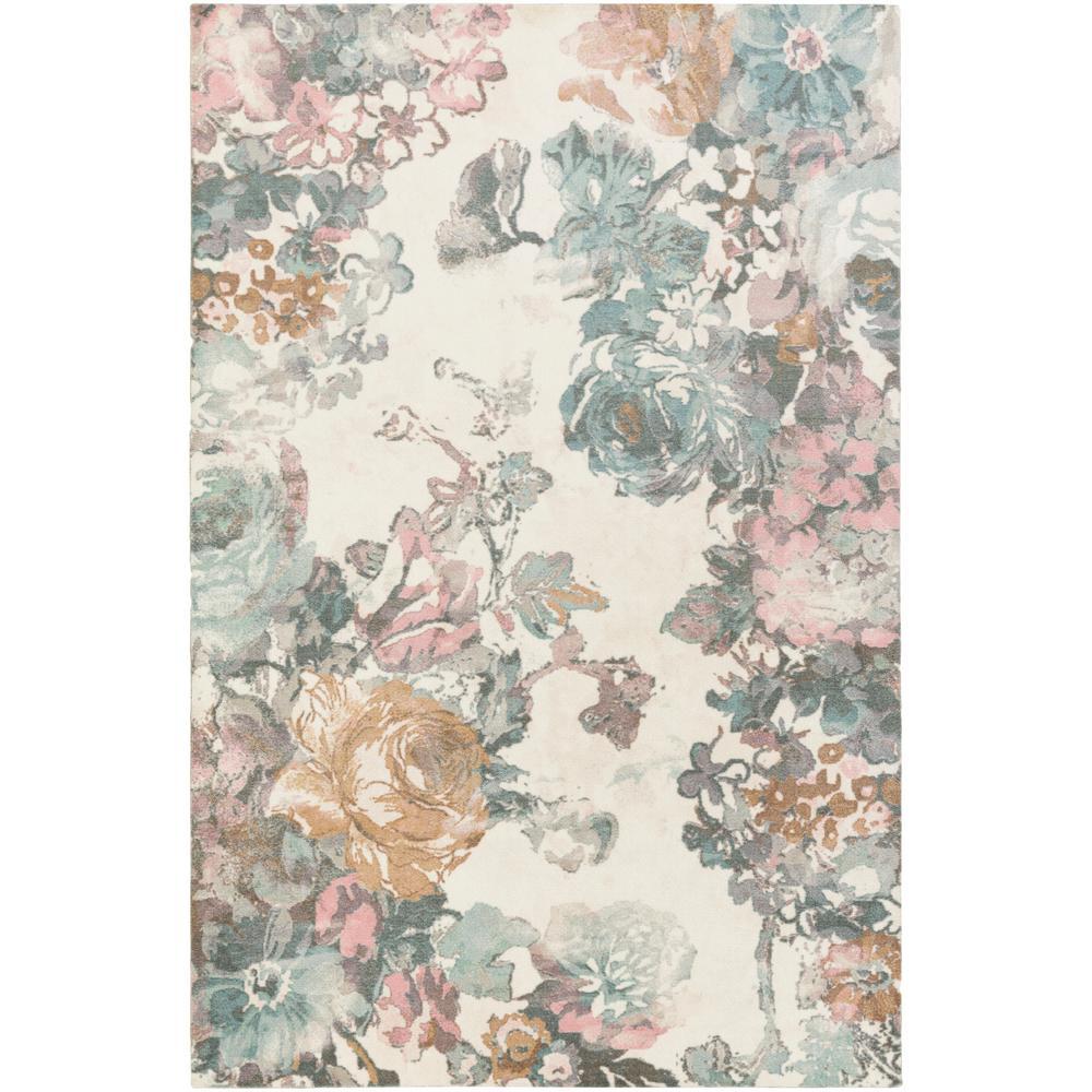 Madeline London Blush Pink 4 ft. x 6 ft. Indoor Area Rug