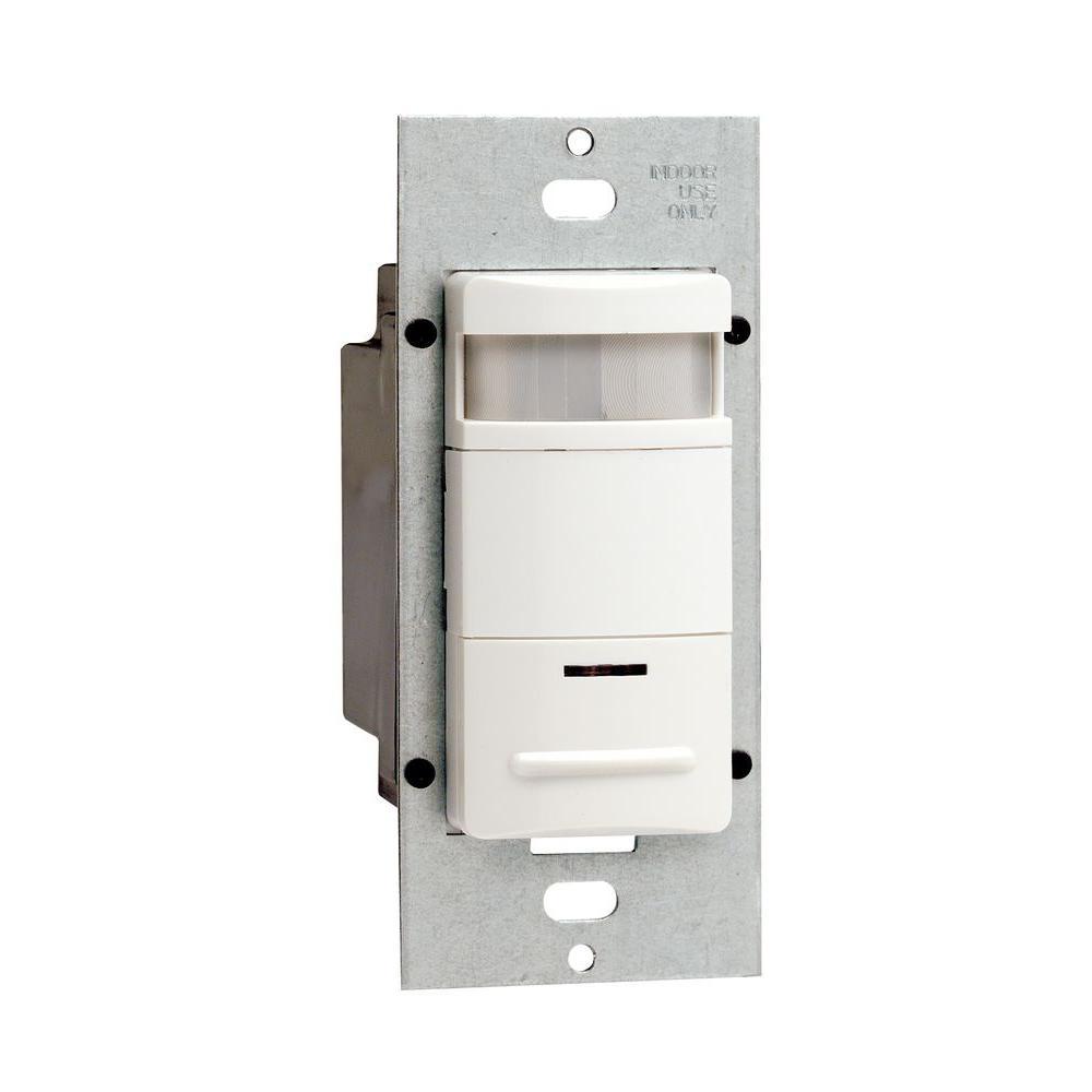 Leviton Decora 120/277 VAC PIR Occupancy Sensor - White-DISCONTINUED
