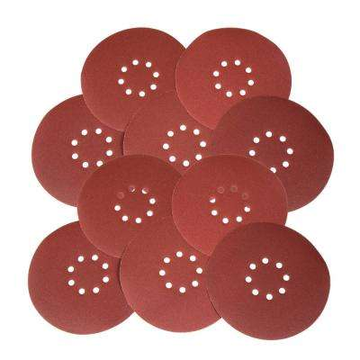 Drywall Sander 240-Grit Hook and Loop 9 in. Sandpaper (10-Pack)