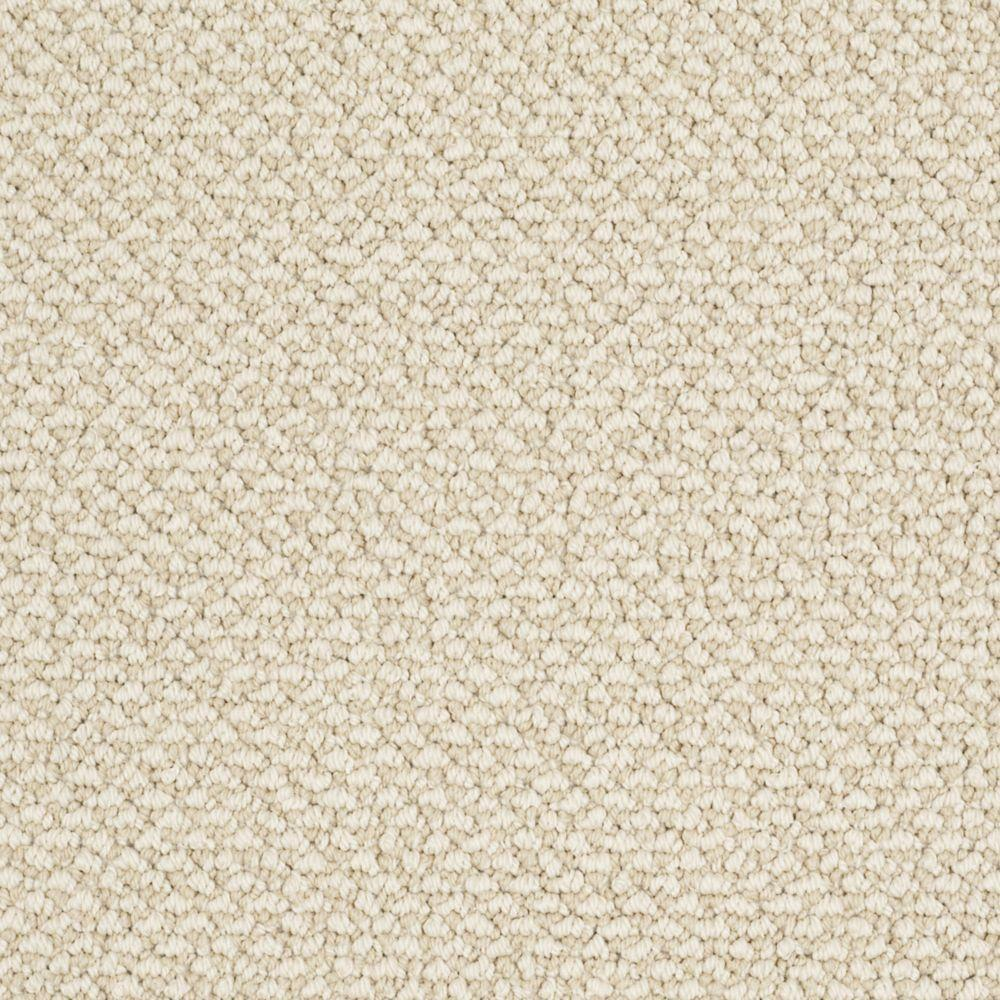 Martha Stewart Living Whitford Bay - Color Buckwheat Flour 6 in. x 9 in. Take Home Carpet Sample