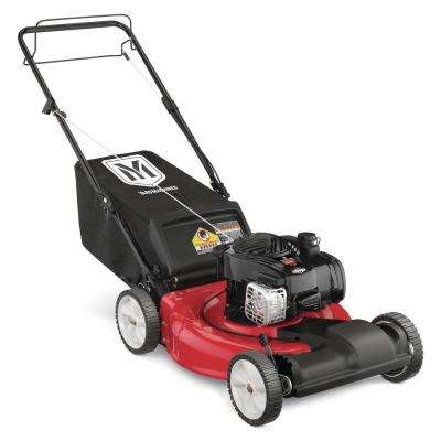 21 in. 140 cc OHV Briggs and Stratton Walk Behind Gas Self Propelled Mower