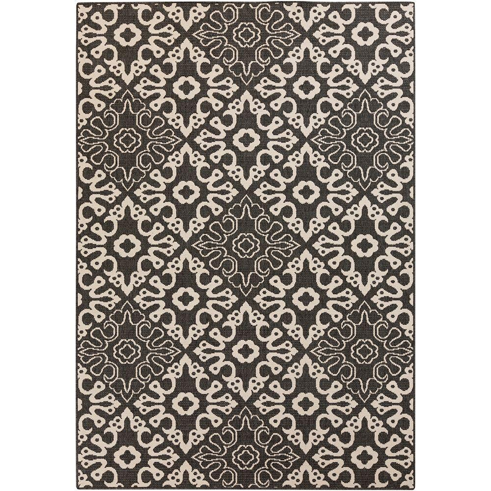 Artistic Weavers Booroomba Black 9 ft. x 13 ft. Indoor/Ou...