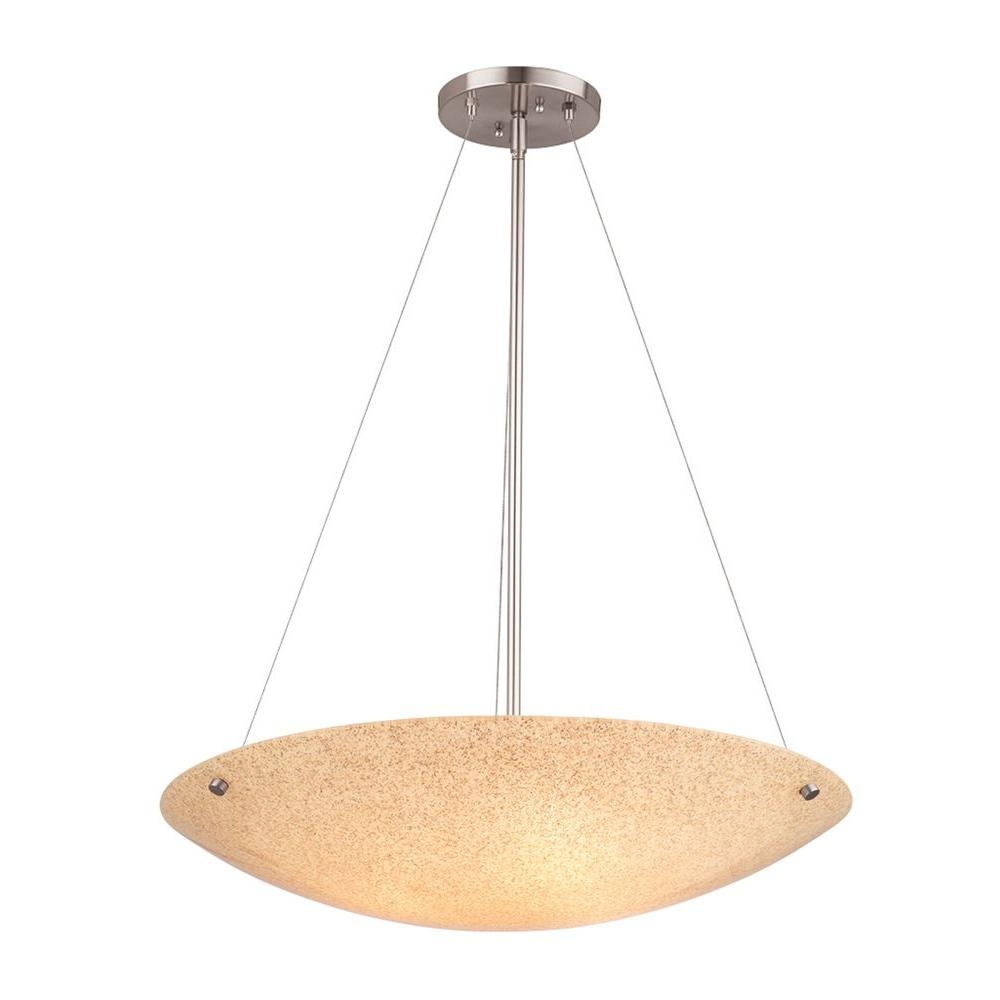 Philips Forecast Pacifica 3-Light Satin Nickel Hanging Pendant-DISCONTINUED