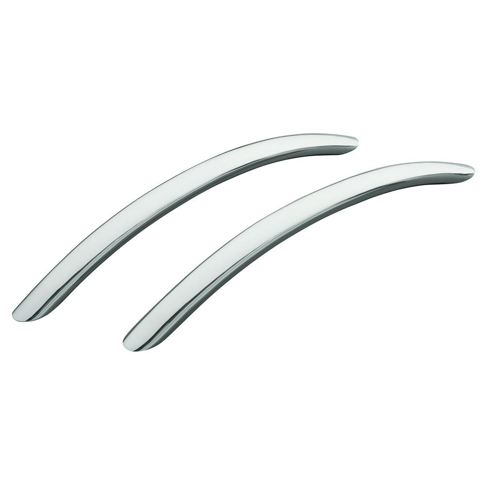 KOHLER RiverBath 20-19/32 in. x 1 in. Brass Grip Rails in Polished Chrome (2-Pack)
