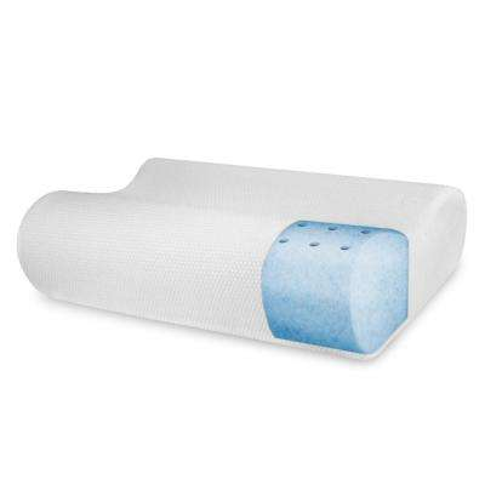 BioPEDIC Classic Contour Memory Foam Standard Pillow
