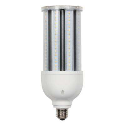 300-Watt Equivalent Daylight T28 Corn Cob Medium Base LED Light Bulb