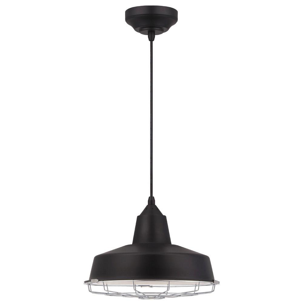 Westinghouse 13 watt black and chrome integrated led - Westinghouse and living ...