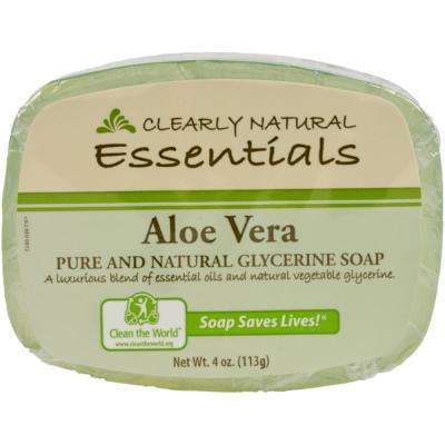 4 oz. Glycerin Bar Soap Aloe Vera (12-Pack)
