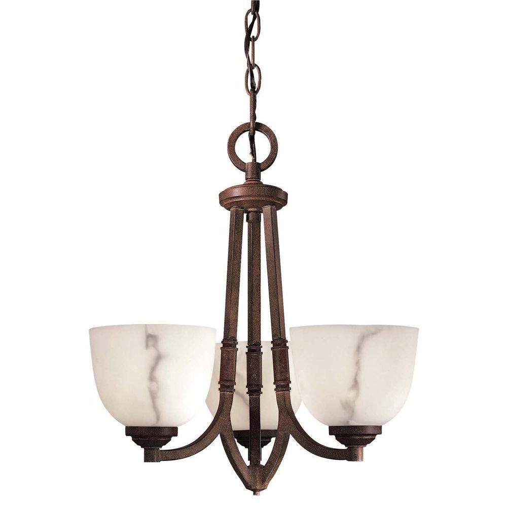 Minka Lavery Calavera 3-Light Nutmeg Mini Chandelier