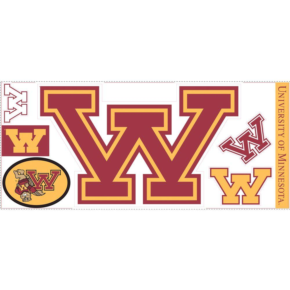 RoomMates University of Minnesota Giant Peel and Stick Wall Decals-DISCONTINUED