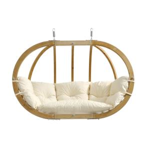 Byer of Maine Globo Chair Royal Two Person Laminated Spruce Patio Swing with... by Byer of Maine