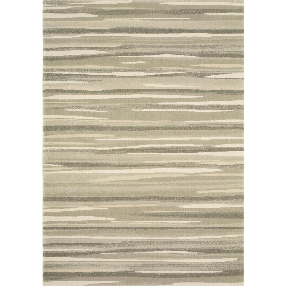Home Decorators Collection Water Color Grey 1 ft. 11 in. x 7 ft. 4 in. Indoor Area Rug