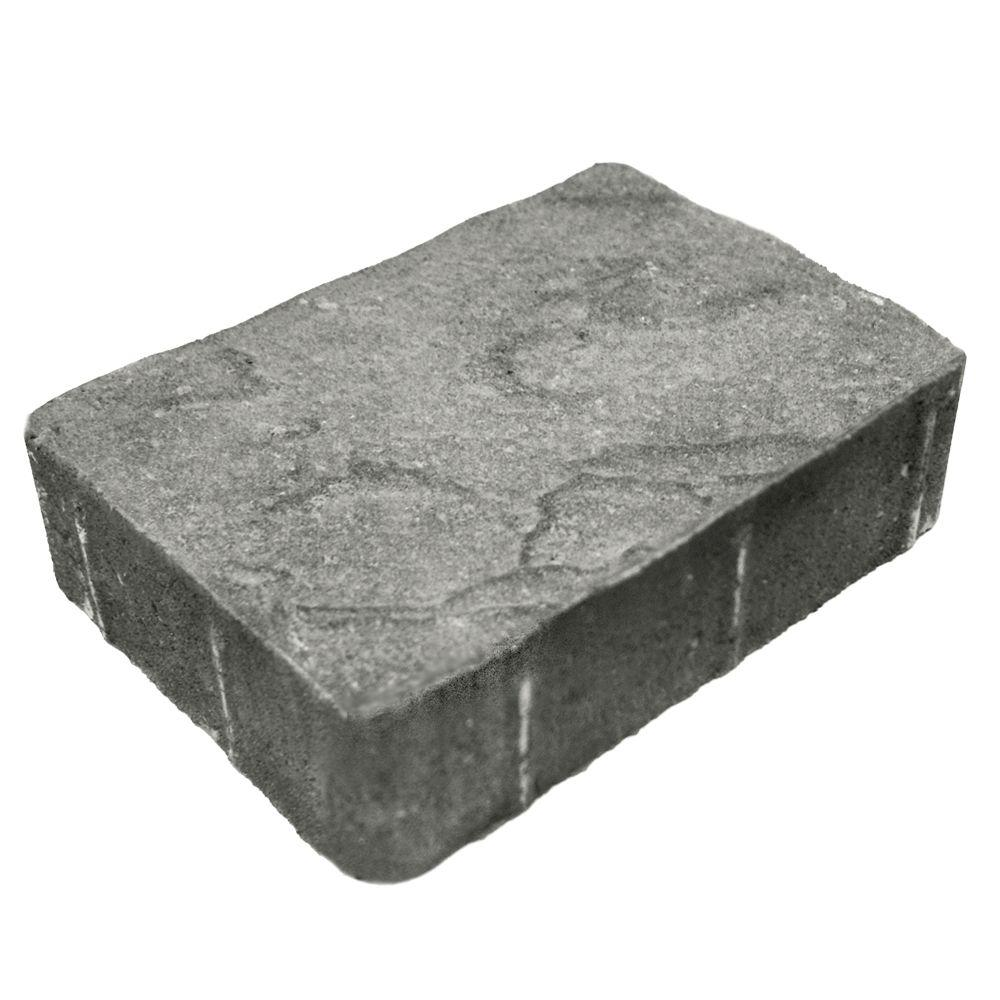 Mutual Materials 5.5 in x 8.25 in. x 2.375 in. Cascade Blend Concrete Paver