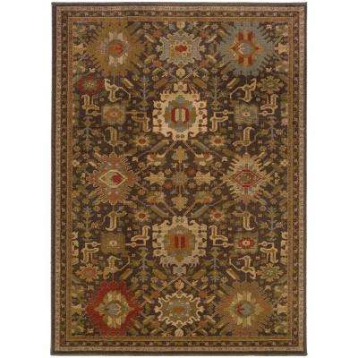 Salerno Coffee 7 ft. x 10 ft. Area Rug