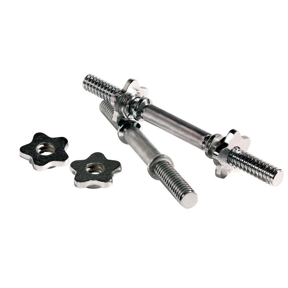 Chrome EZ Spin-Lock Dumbbell Bars