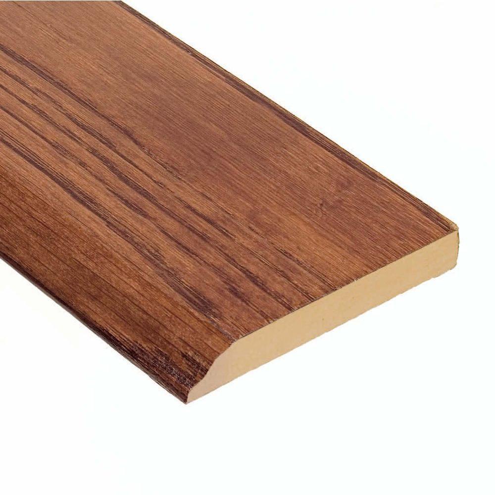 Oak Verona 1/2 in. Thick x 3-1/2 in. Wide x 94 in. Length Wall Base Molding