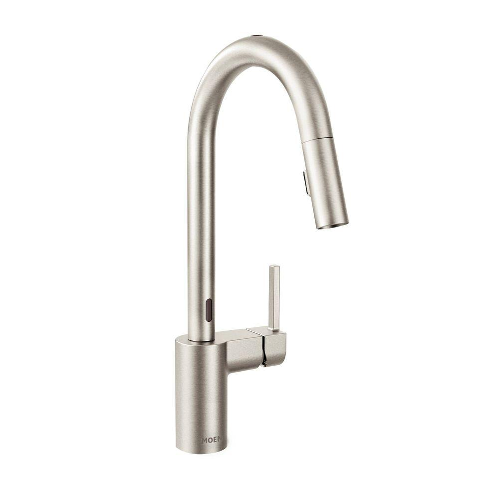 MOEN Align Single-Handle Pull-Down Sprayer Touchless Kitchen ...