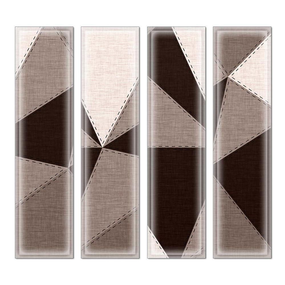 3 In X 12 In X 6 Mm Upscale Designs Crystal Glass Mosaic Wall Tile 7 8 Sq Ft Case
