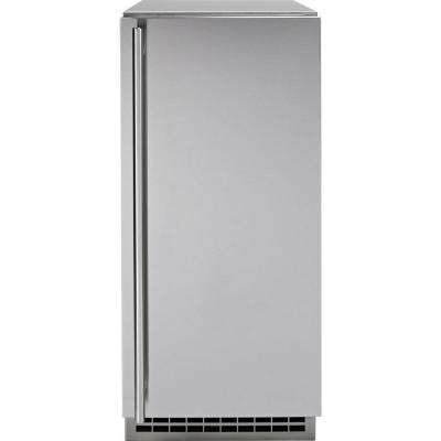 15 in. Built-In 65 lbs. Ice Maker in Stainless Steel