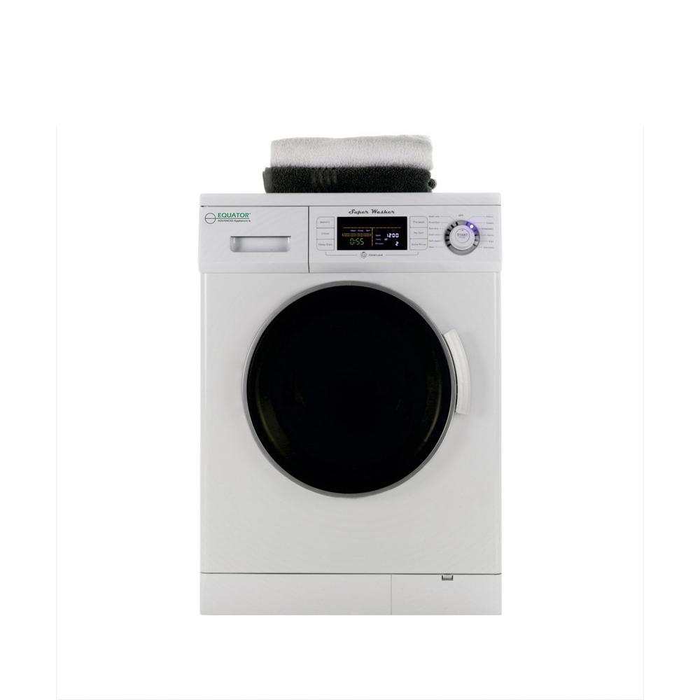 Deco 1.6 cu. ft. White Compact Front Load Washer with 1200 RPM and  Automatic Water Level
