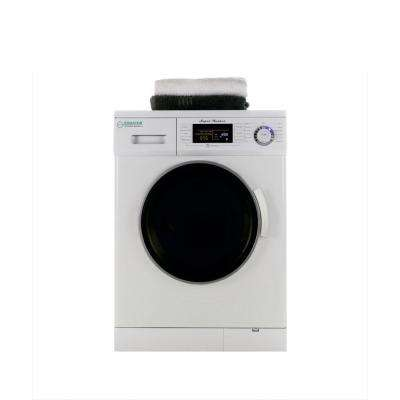 1.6 cu. ft. White Compact Front Load Washer with 1200 RPM and Automatic Water Level