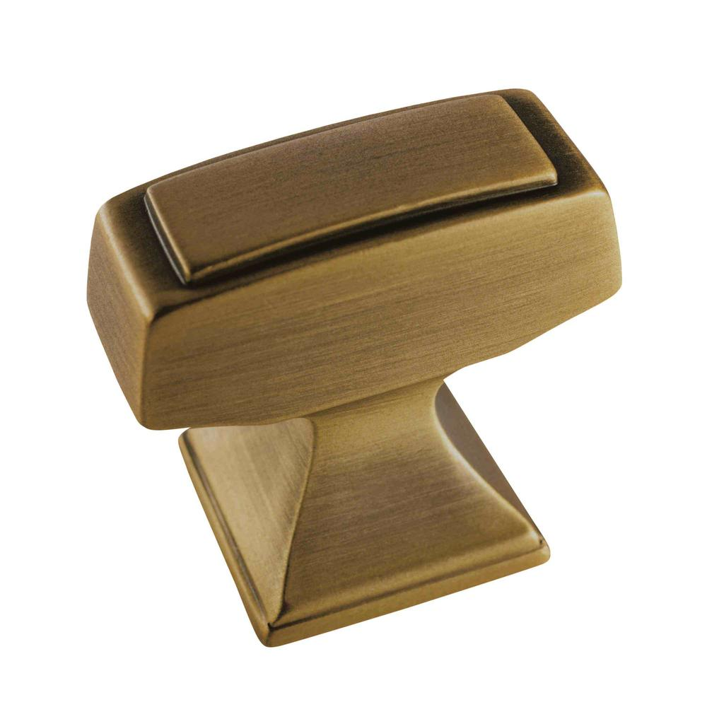 Mulholland 1-1/4 in. Gilded Bronze Cabinet Knob