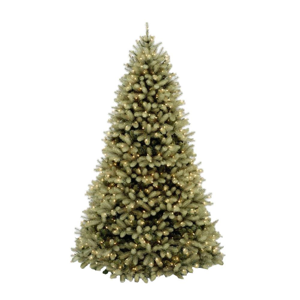 Artificial Christmas Tree 10 Ft: Home Accents Holiday 10 Ft. Pre-Lit Downswept Douglas Fir