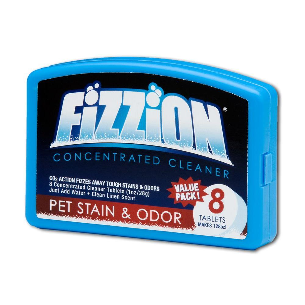 Fizzion 23 oz. Tablet Pet Stain and Odor Remover (8-Refill Tablets)-DISCONTINUED