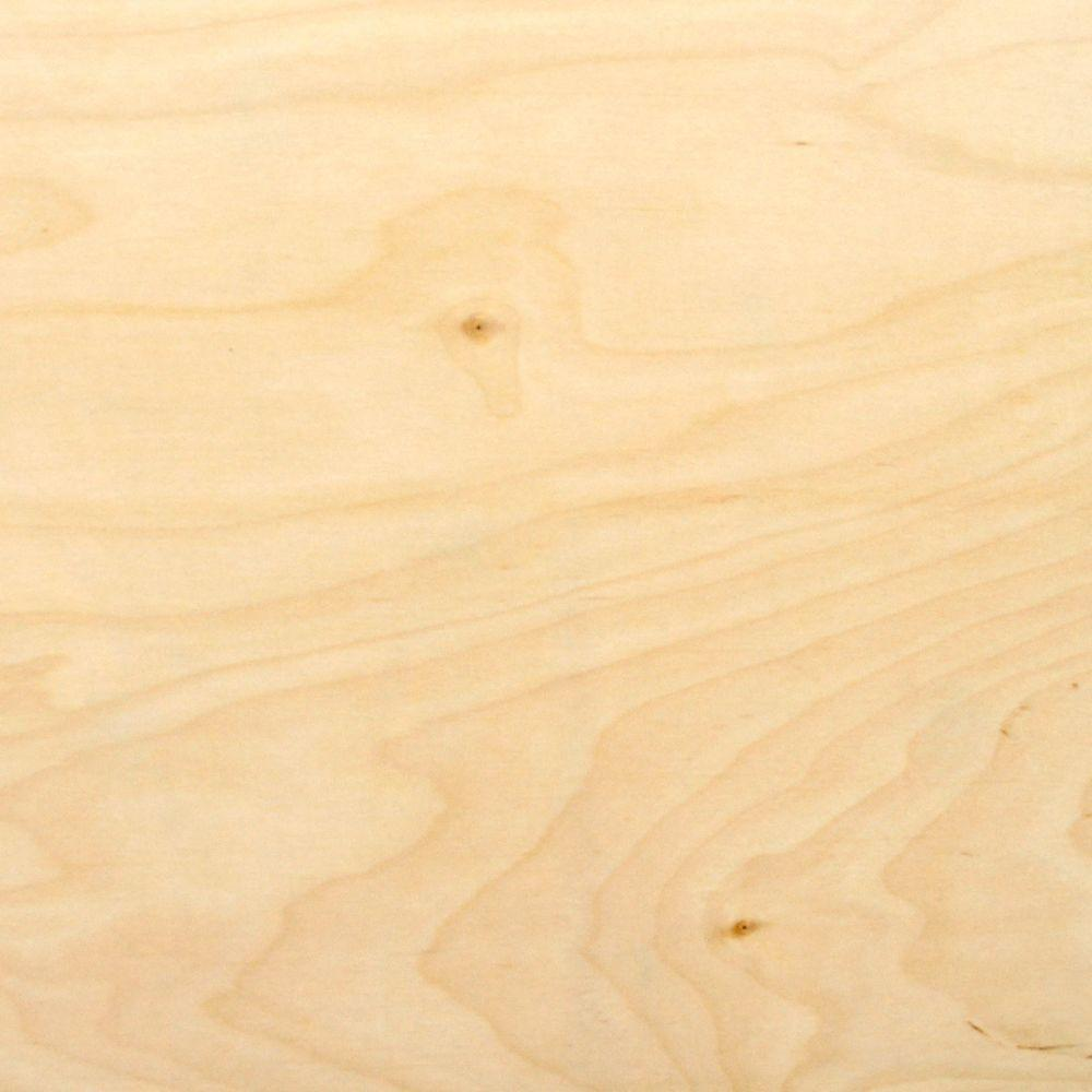 Tri-PLY 1/4 In. X 4 Ft. X 4 Ft. Birch Underlayment Plywood