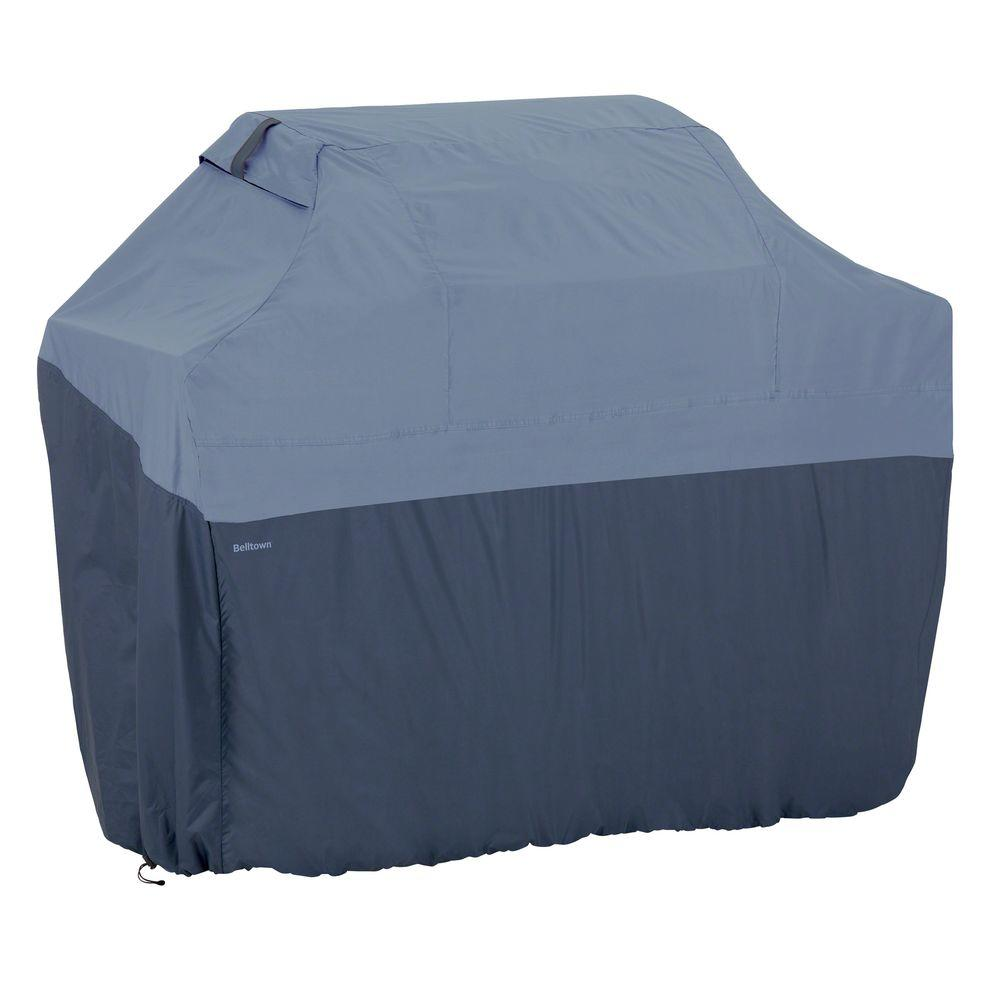 Classic Accessories Belltown Medium Skyline Blue Grill Cover