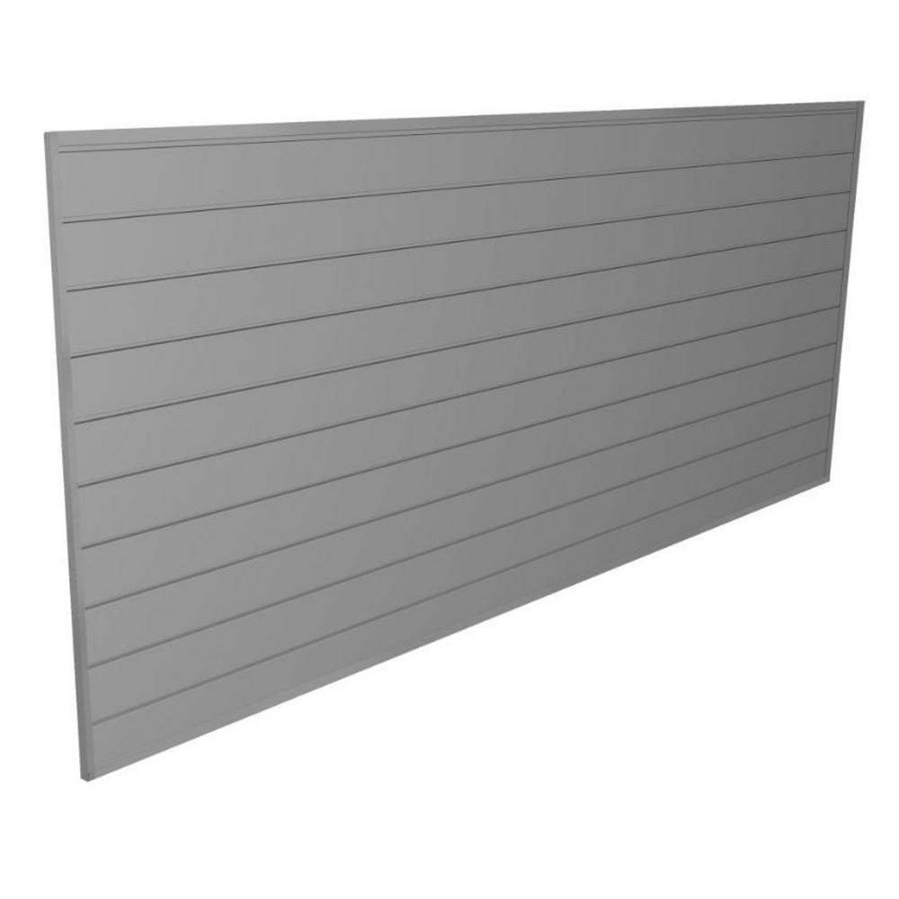 32 sq. ft. Light Gray Wall Panel Kit