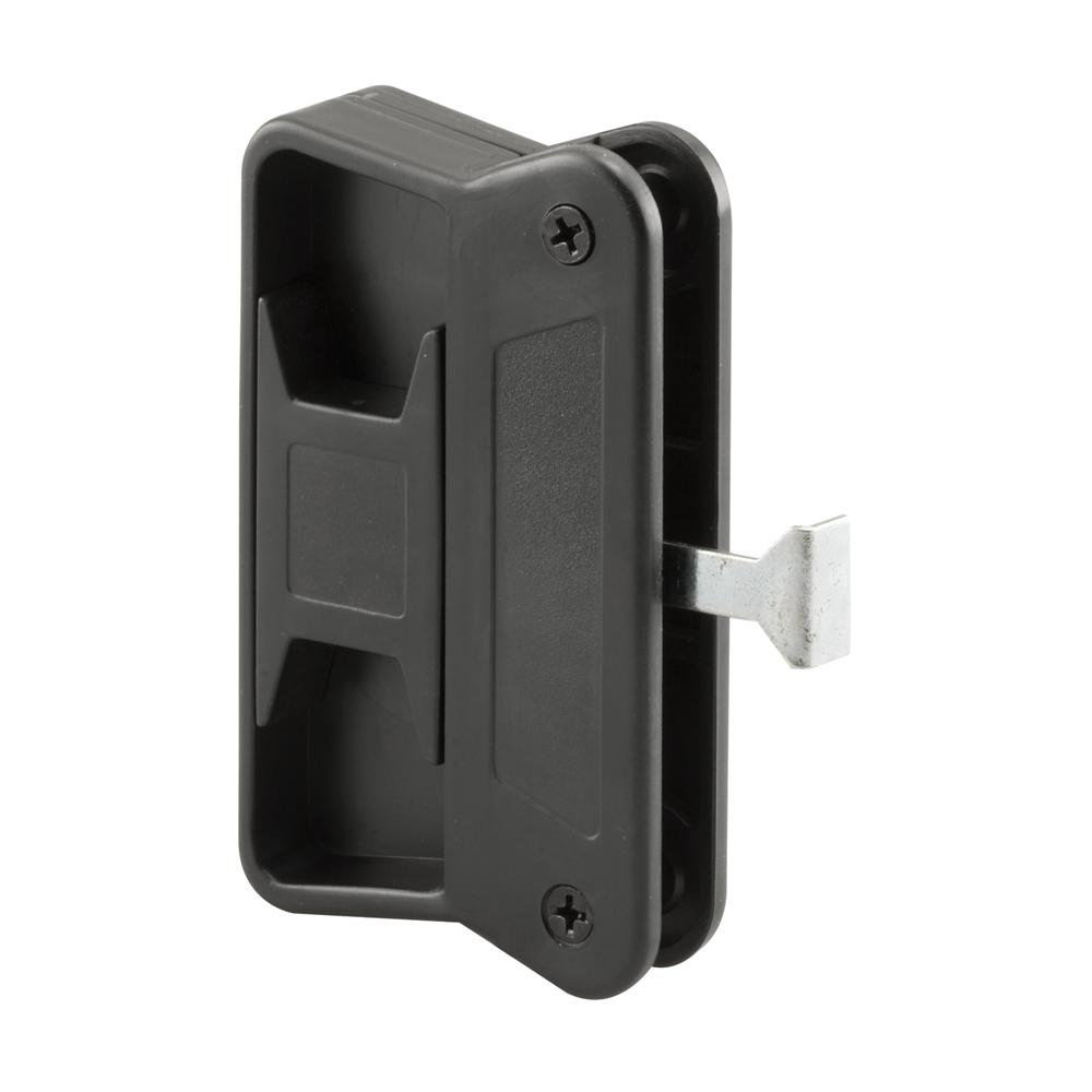 Prime Line Black Plastic Sliding Screen Door Latch And Pull Superior A 168 The Home Depot