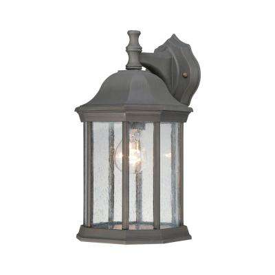 Hawthorne 1-Light Painted Bronze Outdoor Wall Mount Lantern