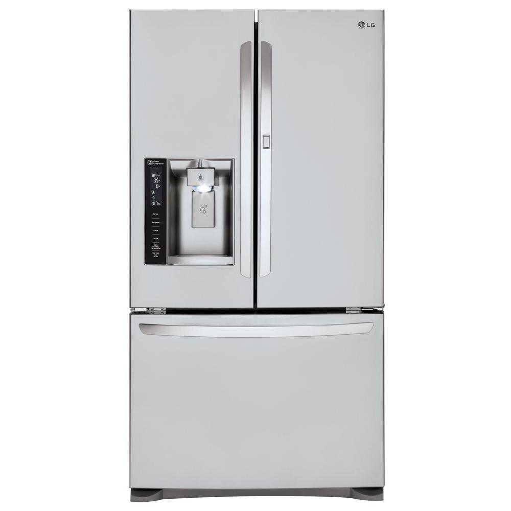 23.9 cu. ft. French Door Refrigerator with Door-in-Door in Stainless Steel